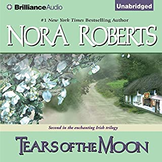 Tears of the Moon     Irish Jewels Trilogy, Book 2              Written by:                                                                                                                                 Nora Roberts                               Narrated by:                                                                                                                                 Patricia Daniels                      Length: 9 hrs and 42 mins     11 ratings     Overall 4.6