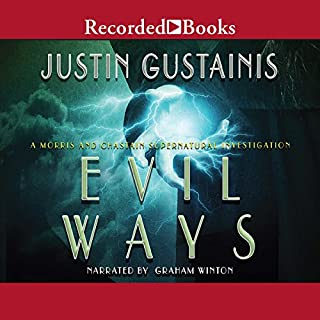 Evil Ways audiobook cover art