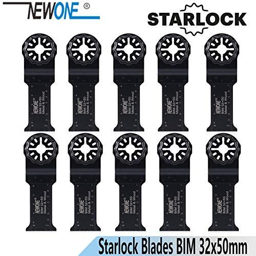 Best Deals! Xucus NEWONE 3250mm Starlock Long BIM Saw Blades fit Power Oscillating Tools for Wood Me...