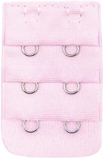 Allegra K Woman Hook Eye Clasp Pale Pink Stretch Corset Tummy Waist Cincher Shaper M