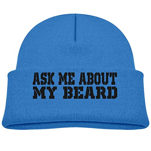 Ask Me About My Beard Beanie Hats Toddler