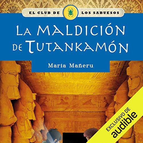 Diseño de la portada del título La maldición de Tutankamón