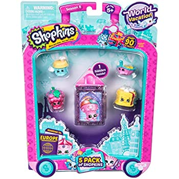 Shopkins S8 Europe Toy 5 Pack | Shopkin.Toys - Image 1