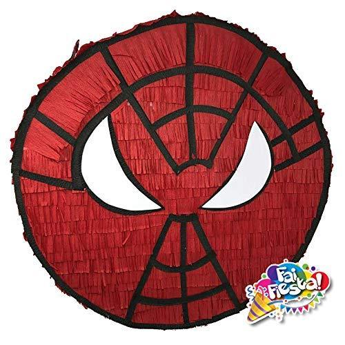 Pignatta (piñata, pentolaccia) Spiderman uomoragno. Gioco della...
