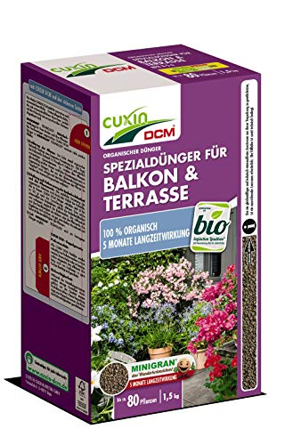Cuxin Spezialdünger für Balkon & Terrasse 1,5kg