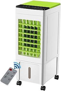 Aire acondicionado de ventana Inicio de control remoto del refrigerador de aire de ahorro de energía 8L grande del tanque de agua del acondicionador de aire del ventilador 3 velocidades del viento vel
