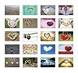 Postkarten mit Motiv Liebe