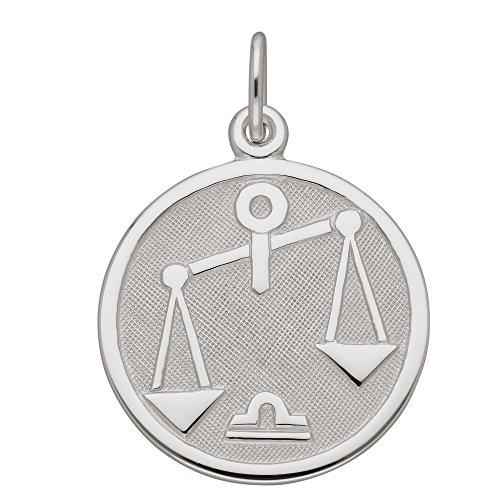 Plata de ley 925Silver signo Colgante–Báscula–Diámetro 15,7mm
