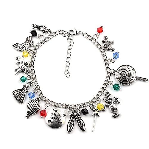 Non c'è posto come il braccialetto di casa Gioielli di alta qualità per le donne 1 pezzo Un sacco Il mago di Oz Braccialetto Accessori per braccialetti