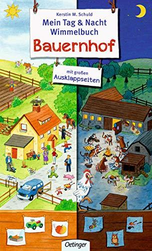 Mein Tag & Nacht Wimmelbuch: Bauernhof
