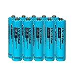 検温器電池ICR10440 充電式リチウムイオン電池 3.7V 単4形 350mAh リチウムコバルトバッテリー (10本)