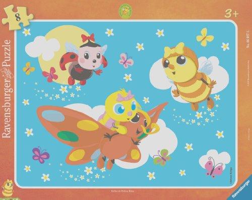 Ravensburger - 06027 - Puzzle Enfant - Drôles de Petites Bêtes - 9 Pièces