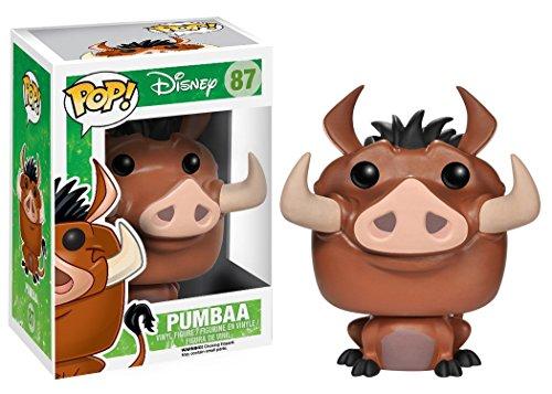 Funko 3888 Disney POP Vinyl Lion King Pumbaa Action Figure Playsets