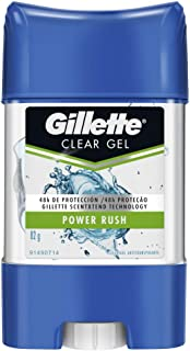 Gillette Desodorante Antitranspirante en Gel Power Rush, 82 gr