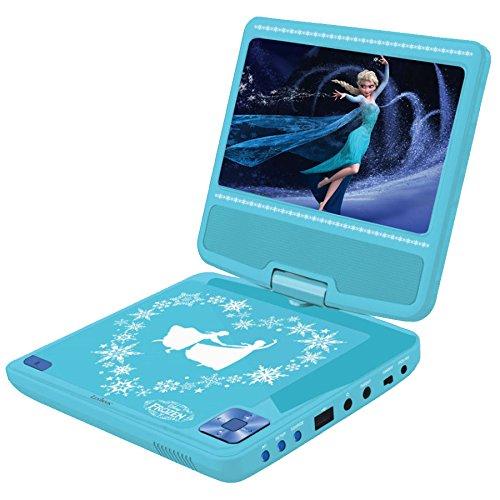 Lexibook - DVDP6FZ - Disney Frozen draagbare DVD-speler - hemelsblauw