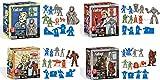 toynk Fallout Nanoforce Series 1 Army Builder Figure Box Sets - Set of 4