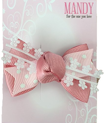 MANDY Baby Boutique Bow Pink [2165]