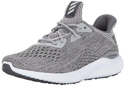 adidas Women's Alphabounce em w Running Shoe, Grey Five/Grey Two/White, 11 Medium US