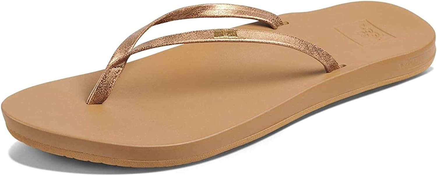 Vegan Leather Flip Flops for Women with