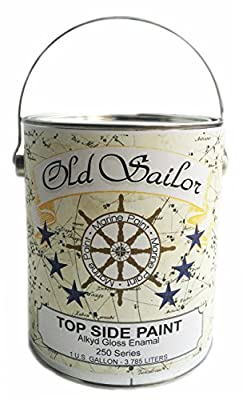Daly's Old Sailor Alkyd Gloss Enamel Marine and Industrial Paint, Yacht Yellow, 1 Gallon by Farwest Paint Manufacturing Company