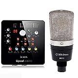 CCFZ4 Alctron MC410とスタジオやライブ放送用サウンドカードUpodナノプロフェッショナルコンデンサーマイク録音