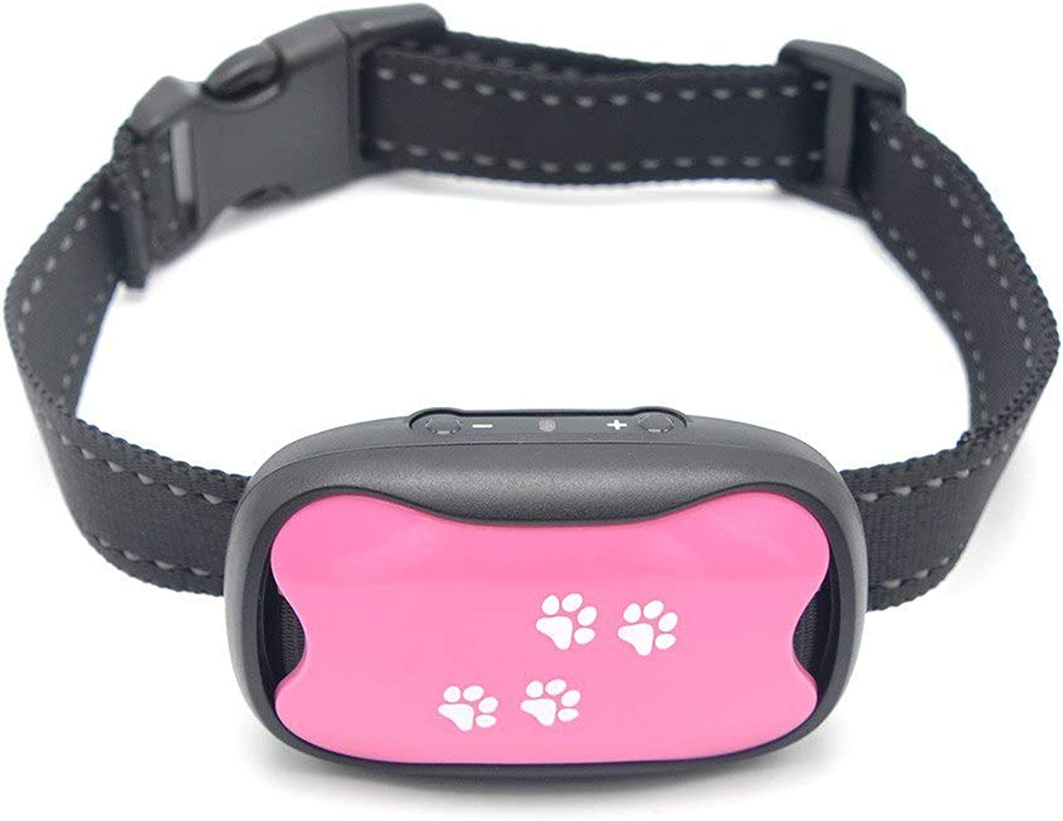 Dog Bark Collar  Safe Anti Barking Control Device  No Shock, Remote or citronella  Vibration and Sound Dog Collars  Best Non Shock Stop Barking Training Collar for Small Medium Large Sized Dogs