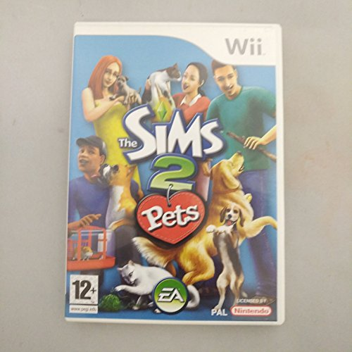 Nintendo Wii The Sims 2: Pets PREOWNED