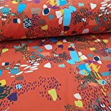 Schickliesel Softshell Stoff Meterware Formen und Farben