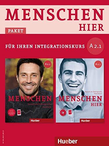 Menschen hier - Paket für Ihren Integrationskurs: Menschen hier A2/1: Deutsch als Zweitsprache / Paket: Kursbuch