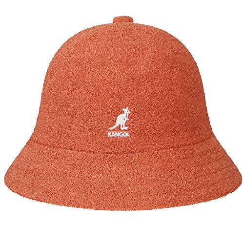 Kangol Headwear Bermuda Casual Bucket Hat Gr. L, Feuerorange