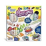 Carioca Perfume | 43082 - Caja Especial de rotuladores con Aromas y Pegatinas para Colorear. Colores Surtidos, 30 Unidades