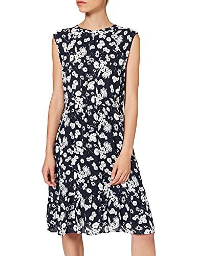 OPUS Damen Wolise Kleid, Blau (Simply Blue 6058), (Herstellergröße: 38)