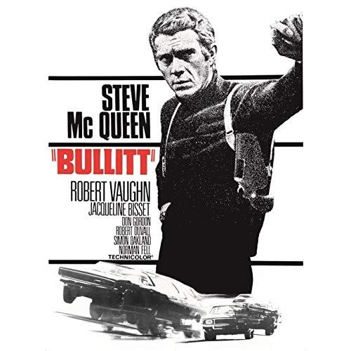 Steve Mcqueen Bullitt-Poster