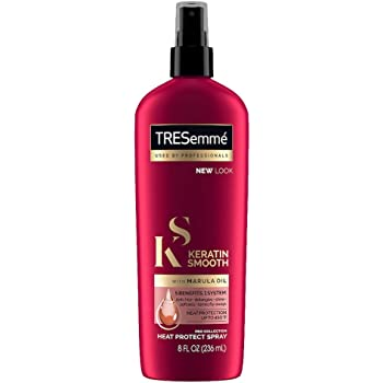 TRESemmé Expert Selection Heat Protection Spray, Keratin Smooth, 8 Fl Oz ,(Pack of 3)