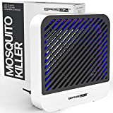 Indoor Bug Zapper Electronic Mosquito Killer Electric Fly Trap Uv Led Light Dilation Bug Lamp Mosquito Zapper Fly Zapper Insect Zapper Silent Mosquito Trap Repellent