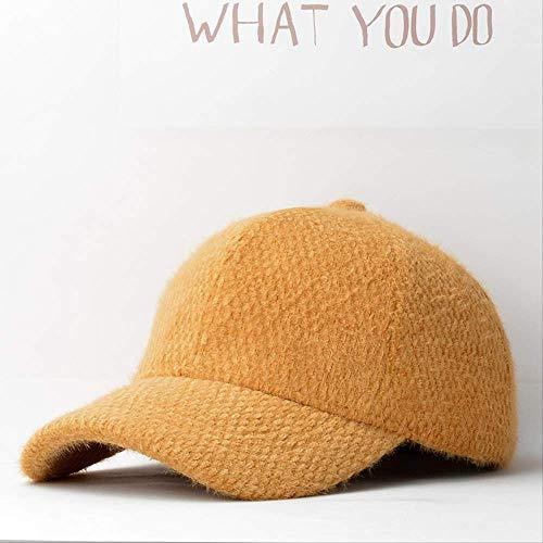 QQYZ Knuffel Baseball Cap voor dames met warme piek