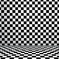 ポスター ウォールステッカー 正方形 シール式ステッカー 飾り 60×60cm Msize 壁 インテリア おしゃれ 剥がせる wall sticker poster チェック・ボーダー 市松模様 チェック 006867