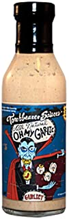 Torchbearer Sauces Oh My Garlic Sauce, 12 Ounces - All Natural, Vegan, Extract-Free, Made in USA and Featured on Hot Ones!