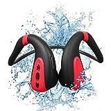 Hueso Conducción Bluetooth Auriculares Natación Players MP3 Auriculares inalámbricos IPX8...