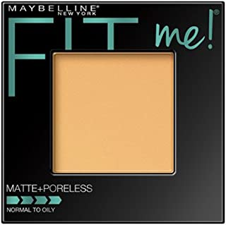 Maybelline New York Fit Me Matte + Poreless Powder Makeup, Natural Beige, 0.29 Ounce, Pack of 1