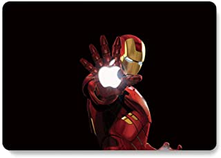 MacBook Case,Laptop Case The Avengers Plastic Case Hard Shell Case for MacBook Pro 13-inch with Retina Display Model A1425/A1502 with Keyboard Skin Cover and Screen Protector (Super Hero 18)