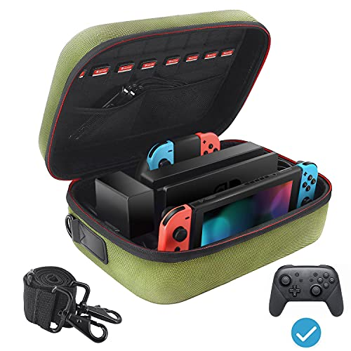 VORI Carrying Case for Nintendo Switch/Switch OLED Model (2021),...