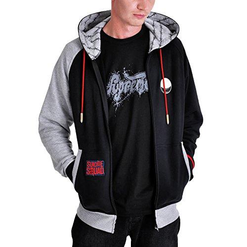Escuadrón Suicida chaqueta con capucha...