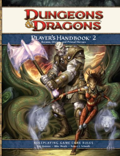 Dungeons & Dragons: Player's Handbook 2- Roleplaying Game Core Rules
