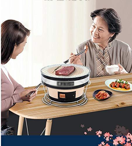 51 qQBrjwPL. SL500  - PULLEY-S Japanisches Essen Grill Netzwerk Grillpfanne in großem Maßstab im Freien Grillclip Gemüse, Rippen und viele andere Lebensmittel S