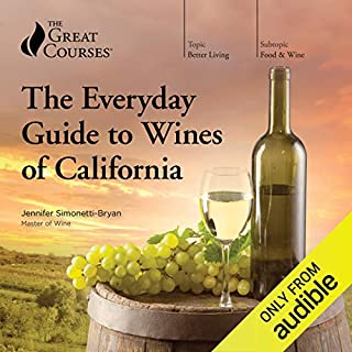 The Everyday Guide to Wines of California audiobook cover art