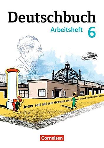 Deutschbuch Gymnasium - Östliche Bundesländer und Berlin: 6. Schuljahr - Arbeitsheft mit Lösungen (Deutschbuch Gymnasium / Berlin, Brandenburg, ... Sachsen, Sachsen-Anhalt und Thüringen)