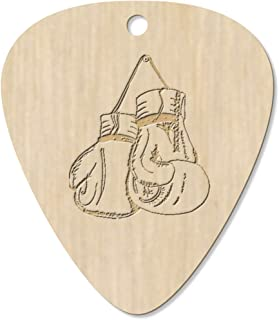 7 x 'Hanging Boxing Gloves' Guitar Picks / Pendants (GP00023559)