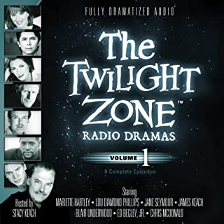 The Twilight Zone Radio Dramas, Volume 1                   By:                                                                                                                                 Rod Serling,                                                                                        Richard Matheson,                                                                                        Charles Beaumont                               Narrated by:                                                                                                                                 full cast                      Length: 4 hrs and 4 mins     1,519 ratings     Overall 4.3