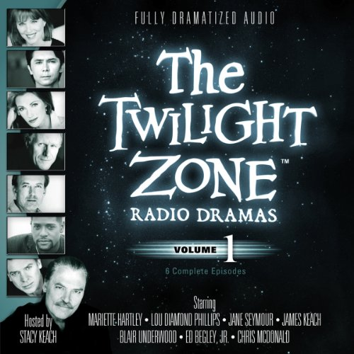 The Twilight Zone Radio Dramas, Volume 1 audiobook cover art